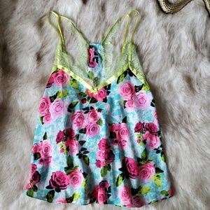 🦋[Betsy Johnson] Floral Cami 0154